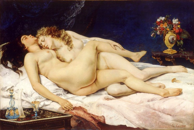 gustave-courbet-le-sommeil